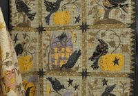 Cozy the raven quilt pattern book blackbird designs sold barefoot quilting 9 Elegant Blackbird Designs Quilt Patterns