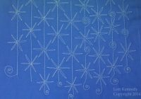 Cozy the snowflake a free motion quilting tutorial lori kennedy 11 Cozy Snowflake Quilting Pattern Gallery