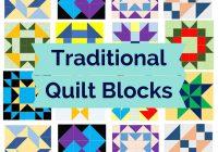 Cozy traditional quilt blocks pattern fun 9 Beautiful Traditional Quilt Patterns Inspirations