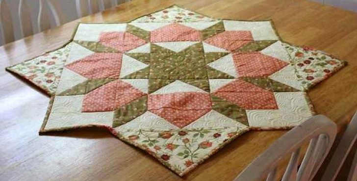 Permalink to 9 Beautiful Table Topper Quilt Patterns