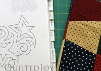 Cozy video tutorial how to audition paper pantographs on your 11 Stylish Pantograph Patterns For Longarm Quilting Gallery