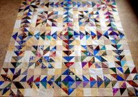 Cozy what to do with 100s of handcut 4 12 squares page 2 9 New 1 2 Square Triangle Quilts