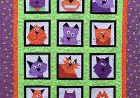 crazy cats quilt pattern Cool Cat Quilts Patterns