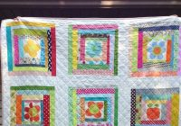 crazy mom quilts wonky log cabin quilt Elegant Wonky Log Cabin Quilt Pattern