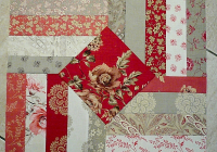 create a beautiful quilt from easy piecing quilting digest Cozy 10 Minute Quilt Block Pattern