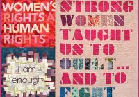 creative nudge womens words at quiltcon equilter blog Elegant Modern Quilt Trends Gallery