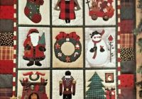 debbie mumm visions of christmas wall quilt pattern 31×37 uncut vintage 1994 Interesting Debbie Mumm Quilt Patterns Inspirations