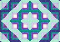 design a log cabin quilt pattern that starts with a picture Log Cabin Variations Quilt Patterns Inspirations