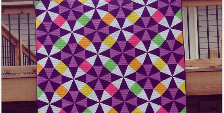 Permalink to Stylish Kaleidoscope Quilt Patterns Inspirations