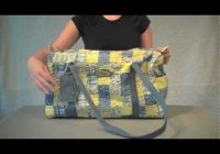 designing a quilted duffle bag Stylish Quilted Duffle Bag Pattern
