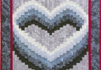 details about grammies chickens quiltwallhanging pattern Elegant Bargello Heart Quilt Pattern