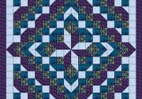 details about quilt kit faceted starqueenshades of purple Unique Ready To Sew Quilt Kits Inspirations