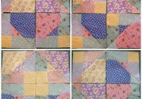 disappearing 9 patch quilt block criss cross cut Cool Disappearing Nine Patch Quilt Patterns Gallery