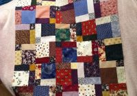 disappearing 9 patch quilt we love quilting disappearing Modern Scrappy Disappearing 9 Patch Quilt
