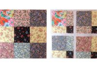 disappearing nine patch quilt pattern Modern Scrappy Disappearing 9 Patch Quilt