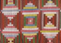 discover vintage america covering quilts Cozy Log Cabin Quilt Pattern History