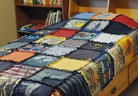 diy t shirt quilt no sew Unique No Sew Quilt Patterns Gallery