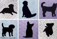 dog applique patterns for quilts embroidery crafts Interesting Dog Applique Quilt Patterns Gallery