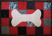 dog quilts canine inspired quilts to love Elegant Quilt Pattern For A Dog Bone