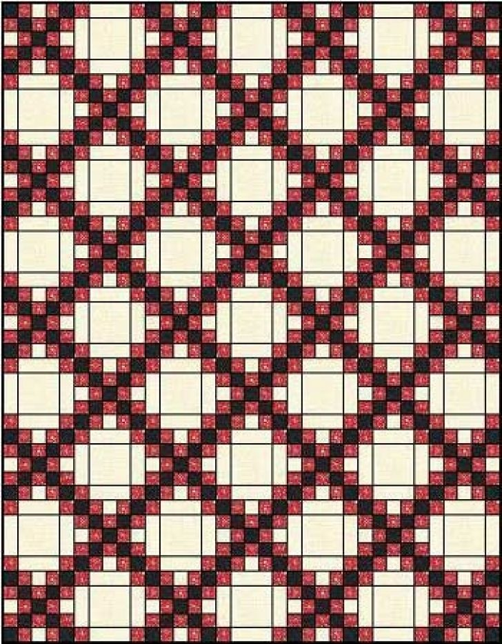 Permalink to Cozy Double Irish Chain Quilt Pattern Gallery