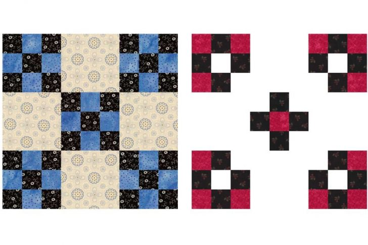 Permalink to Double Nine Patch Quilt Pattern Gallery