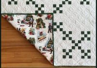 double nine patch quilt with novelty print backing Double Nine Patch Quilt Pattern Gallery
