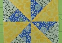 double pinwheel quilt block 3 4 5 6 and 8 block sizes Modern Double Pinwheel Quilt Pattern Inspirations