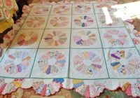 dresden plate quilts 1930 finely done handmade antique 11 Interesting Dresden Plate Quilt Pattern Inspirations