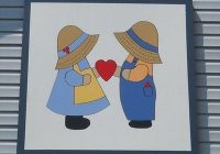dutch girl and boy quilts this is the one that is Modern Dutch Boy And Girl Quilt Pattern