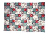 easy and free double four patch rag quilt pattern Easy Four Patch Quilt Pattern