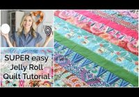 easy beginner quilting tutorial with a jelly roll youtube Cool Quilting Youtube Quilt Patterns Gallery