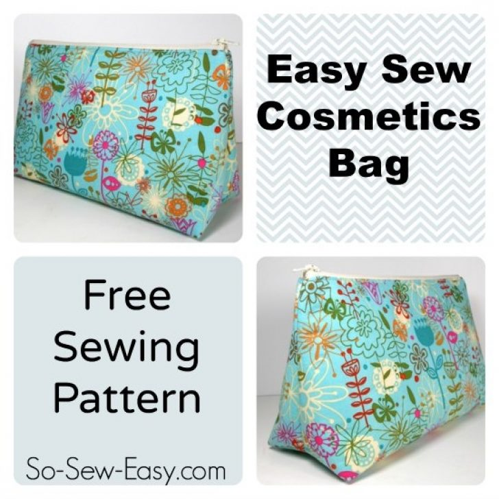 Permalink to Interesting Quilted Makeup Bag Pattern