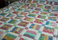 easy jelly roll quilt pattern 6 sizes bluprint Unique Queen Size Quilt Patterns Inspirations