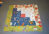 easy log cabin quilt block pattern 9   Easy Log Cabin Quilt Pattern