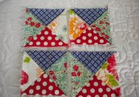 easy quarter square triangle tutorial a quilting life Quarter Square Triangle Quilt Pattern
