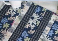 easy quilt as you go placemats the seasoned homemaker Elegant Quilting Patterns For Placemats
