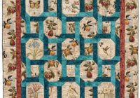 easy quilt patterns for large print fabrics quilty Cool Quilt Patterns For Large Print Fabrics Inspiration