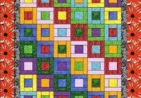 easy quilt patterns you cant live without and they are fun Unique Block Quilt Patterns For Beginners