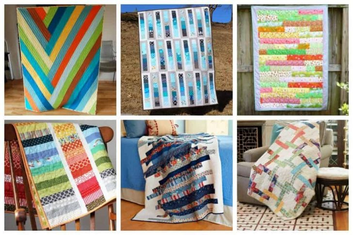 Permalink to Interesting Easy Strip Quilt Patterns Gallery