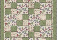 Elegant 3 yard quilt patterns free quilt top right click on image Modern Pictures Of Quilt Patterns
