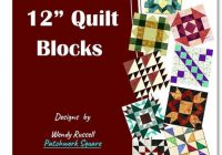 Elegant a dozen 12 quilt block patterns 11 Modern 12 In Quilt Block Patterns Gallery