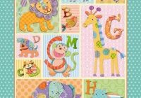 elegant ba quilt fabric panels inspiration quilt design Modern Elegant Baby Quilt Fabric Panels Inspiration
