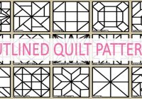 Elegant barn quilt patterns designs ideas more 9 Stylish Geometric Quilt Patterns Printable