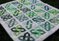 Elegant big finish celtic motion group quilt celtic quilt irish 9 Modern Celtic Quilting Patterns