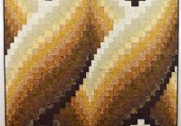 Elegant brown and cream twisted bargello quilt bargello quilt 9 Beautiful Twisted Bargello Quilt Pattern Gallery