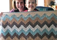 Elegant carolyns chevron quiltfree pattern quilting daily 9 Beautiful Chevron Stripe Quilt Pattern Gallery