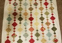 Elegant chandelier quilt made lisa gallup pattern from charm 9 Unique Patterns For Quilting Quilts