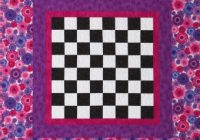 Elegant checkerboard quilt pattern from ct publishing favecrafts 9   Checkerboard Quilt Pattern Gallery