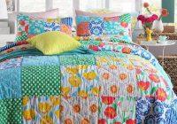 Elegant cotton handmade patchwork quilt set 3pcs vintage bedspread 11 Cool Vintage Quilt Bedding Inspirations