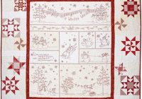 Elegant crabapple hill winter wonderland quilt pattern winter 11 Cool Winter Wonderland Quilt Pattern